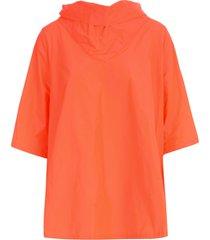katharina hovman funnel neck 3/4s shirt