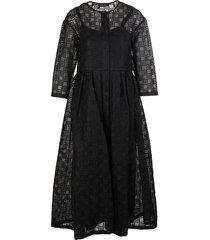 max mara black paride dress