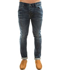 pantalon jean azul oscuro oscar de la renta a9dnm07-dk/bl