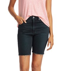 current/elliott women's the truby virens denim shorts - superba cut hem - size 24 (0)