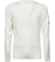 c.p. company plain ribbed sweatshirt