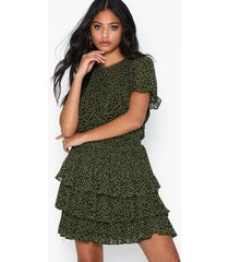 michael michael kors mini lilly tier dress skater dresses