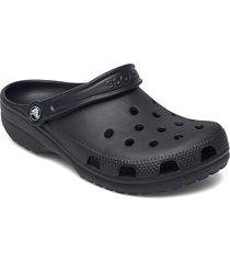 classic shoes summer shoes pool sliders svart crocs