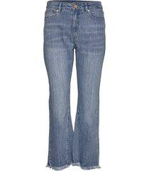 crpd flare w insert jeans utsvängda blå michael kors