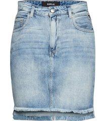 skirt kort kjol blå replay