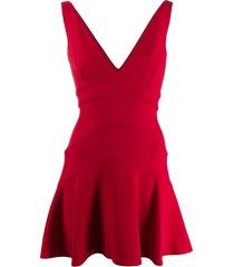 dsquared2 peplum mini dress
