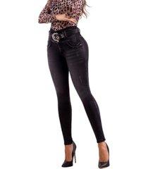jeans colombiano control abdomen plomo bartolomeo