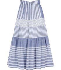 ipy skirt in blue stripe