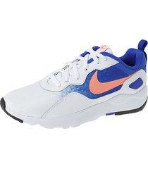 running blanco-azul nike nk tenis wmns ld runner bla