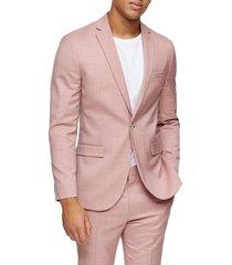 men's topman dax slim fit suit jacket