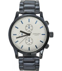 reloj azul amphora w074