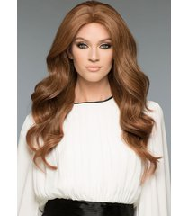 amber remy human hair wig by wig pro *any color!* mono top or 100% hand-tied new