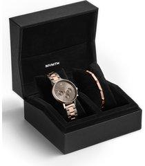 women's mvmt nova - orion bracelet watch set, 38mm