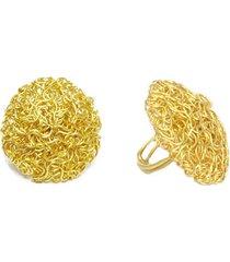 anillo de mujer dorado placca microfilo brass colection by vestopazzo