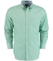 gant overhemd groen regular fit 3064700/336