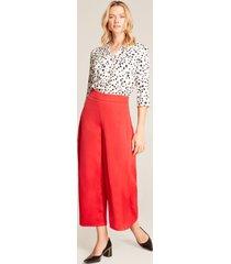 pantalón rojo rojo 10
