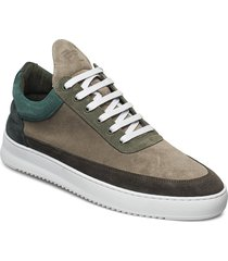 low top ripple multi lage sneakers groen filling pieces