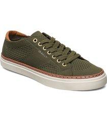 prepville low lace shoes låga sneakers grön gant