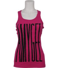 amy gee tanktop - fuxia - roze