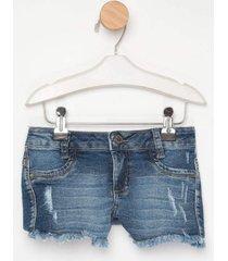 shorts jeans express dolly azul