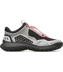 camper crclr, sneakers mujer, negro/gris/blanco, talla 42 (eu), k200886-012