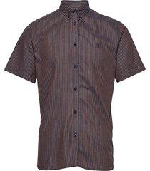 simon shirt buttondown overhemd met korte mouwen blauw les deux