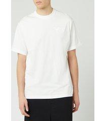 y-3 men's classic chest short sleeve t-shirt - white - l