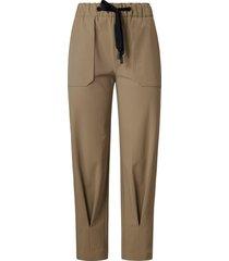 comfortabele broek van mac daydream beige