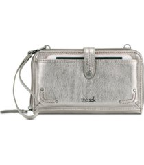 the sak women's iris smartphone leather crossbody wallet
