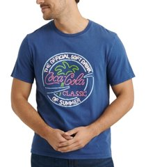 lucky brand men's coca-cola graphic t-shirt