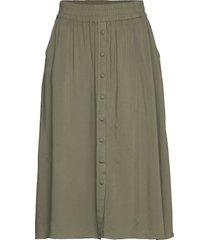 sc-radia knälång kjol grön soyaconcept