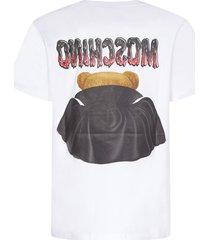 moschino bat teddy short sleeve t-shirt