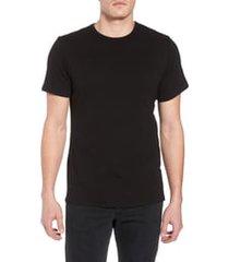 men's rag & bone classic crewneck slim fit cotton t-shirt, size x-large - black