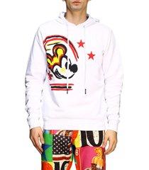 iceberg sweatshirt iceberg hoodie with mickey mouse print