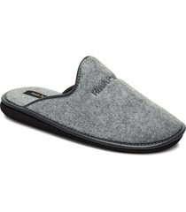 felt slipper slippers tofflor grå hush puppies