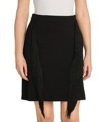 cady fringe stretch pencil skirt