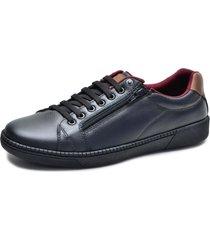 sapatênis over boots couro soft preto