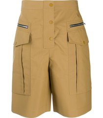 3.1 phillip lim pocket detail shorts - neutrals