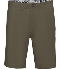 bs even tailored shorts chinos shorts grön bruun & stengade