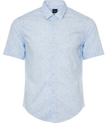 boss brodi short sleeve shirt - open blue 50381600