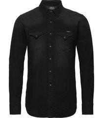 shirt overhemd casual zwart replay
