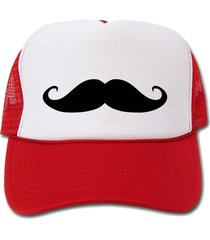 mustache hat/cap