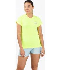 camiseta flex verde para mujer