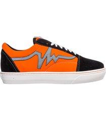 scarpe sneakers uomo camoscio reflex