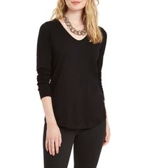 women's nic+zoe vital v-neck sweater