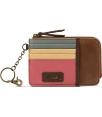 the sak leather iris card wallet