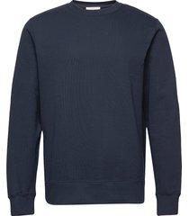hugh classic sweatshirt sweat-shirt trui blauw wood wood