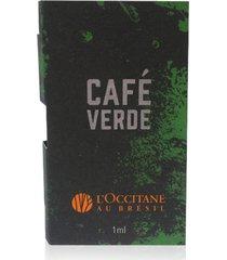 amostra deo colônia café verde 1ml