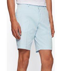 boss men's slim-fit stretch cotton shorts