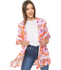 kimono naranja asterisco deciso
